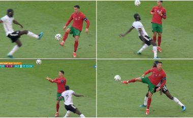 Vitet janë vetëm numra për Ronaldon – Ylli portugez 'trullos' Rudigerin me një lëvizje fantastike