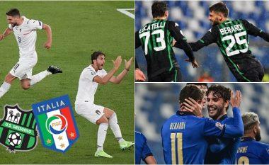 Klubi i vogël i Serie A që po i jep zemër të madhe Italisë – Sassuolo me dy yjet e saj ka pushtuar zemrat e italianëve