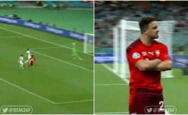 Tjetër rast, tjetër eurogol nga Xherdan Shaqiri - lojtari shqiptar i pandalshëm