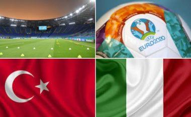 Turqi-Itali, formacionet e mundshme të ndeshjes hapëse të Euro 2020