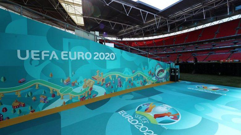 Përfaqësueset e kualifikuara në 1/8 e finales dhe ato të eliminuara nga 'Euro 2020' deri më tani