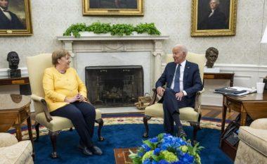 Për çka biseduan Biden dhe Angela Merkel në Uashington?