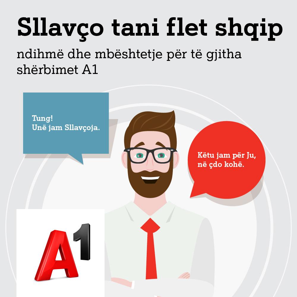 """A1 Maqedoni paraqet """"Sllavçon"""", çetbotin e parë dhe të vetëm në gjuhën shqipe në rajon"""