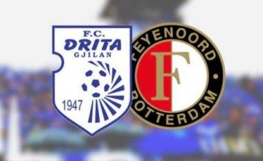 Drita pret sot Feyenoordin në ndeshjen e parë në Ligën e Konferencës