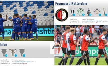 Drita – Feyenoord, ekipi holandezë vlen mbi 30 herë më shumë se gjilanasit