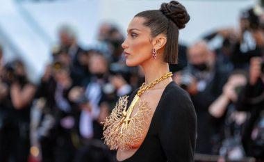 Bella Hadid mahnit me veshjen në Festivalin e Filmit në Kanë