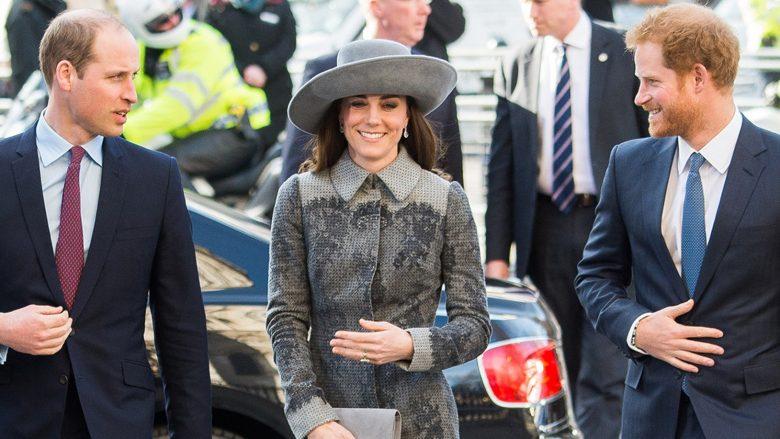 Princi Harry, Kate Middleton dhe Princi William (Foto: Getty Images)