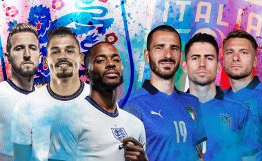 Angli – Itali: Statistika, analizë, formacionet e mundshme dhe parashikim i finales së Euro 2020
