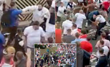 Përleshje masive mes tifozëve të Anglisë para finales së Euro 2020