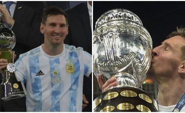 """""""Sa çmenduri e bukur, e mahnitshme"""", reagimi i Messit pasi fitoi Copa America"""