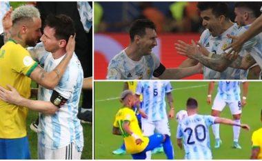 Nga lotët e Messit deri tek përqafimi me Neymarin dhe driblimet e shumta – Gjërat më interesante të finales në Copa America