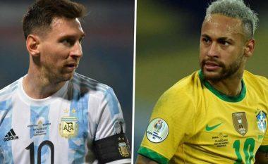 Messi dhe Neymar zgjidhen lojtarët më të mirë në Copa America