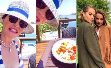 """Rita ia kërkoi recetën tradicionale të """"gjizëz me speca"""" për ta gatuar në Los Angeles, Vera Ora ia tregon me video nga Ulqini"""