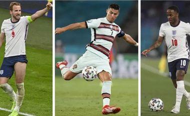 """Ronaldo, Kane apo Sterling: Kush do të fitojë """"Këpucën e Artë"""" në Euro 2020"""