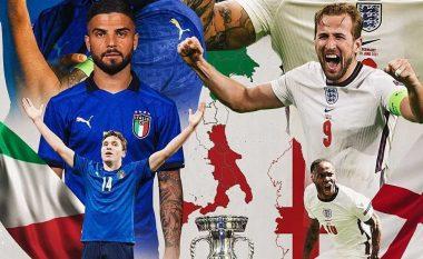 LIVE: Itali-Angli, finalja e 'Euro 2020'