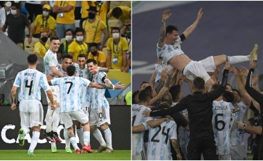 Argjentina kampion në Copa America, Messi merr trofeun e parë me kombëtare