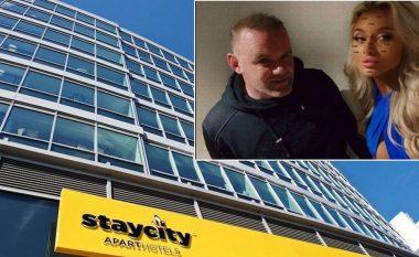 Brenda ambienteve të hotelit luksoz në Manchester, ku Wayne Rooney qëndroi me tri bukuroshet që e xhiruan