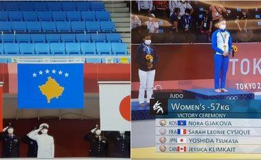 Lartësohet edhe një herë mbi të gjithë flamuri i Kosovës - falë Nora Gjakovës