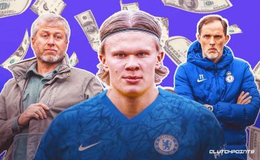 """""""Shpresoj se janë vetëm spekulime, 175 milionë euro janë shumë për një person"""" – Haaland deklarohet për interesimin e Chelseat"""