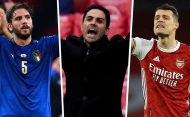 Xhaka i larguar, Locatelli i transferuar – Formacioni i mundshëm i Arsenalit për sezonin 2021/22