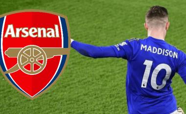 James Maddison është prioritet i Arsenalit – zbulohen madje edhe detajet për të arritur marrëveshjen