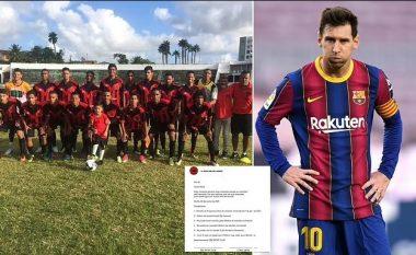 Zbulohet oferta me të gjitha 'kushtet unike' të ofruara nga skuadra më e keqe në botë për Messin