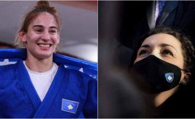 """""""Në këtë dite zie për popullin tonë, Nora Gjakova i solli dritë Kosovës"""" - Presidentja falënderon xhudisten për suksesin e arritur"""