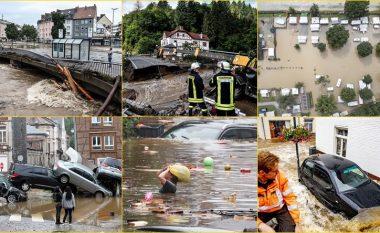 Jo vetëm në Gjermani: Përmbledhje pamjesh të katastrofës së krijuar nga përmbytjet në disa shtete të Evropës