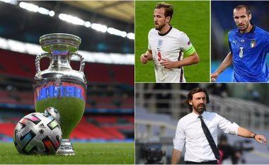 Analiza e Andrea Pirlos: Pesë betejat e mëdha që në presin në finalen e Euro 2020 – spikat ajo mes Harry Kane dhe Giorgio Chiellinit