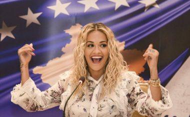 """Rita Ora reagon pas fitores së Distria Krasniqit: Kosova lë gjurmë në """"Tokio 2020"""""""