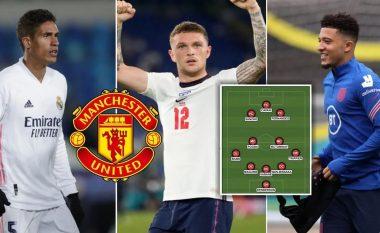 Sancho, Varane dhe Trippier – Formacioni i mundshëm i Manchester Unitedit në sezonin e ri