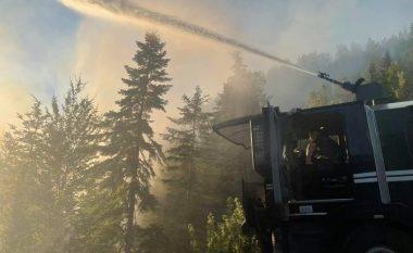Në Bjeshkët e Rugovës, Gjilanit dhe Vitisë ka ende vatra zjarri