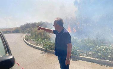 Zjarri përfshinë Zonën Industriale në Shirokë, Muharremaj: Situata është shumë serioze