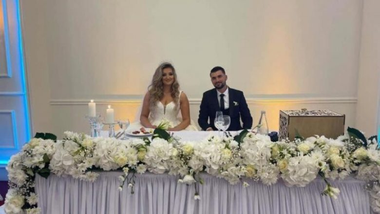 Pamje nga martesa e deputetes Adelina Grainca