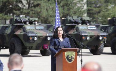 Osmani: Pajisjet ushtarake të dhuruara nga SHBA-të, dëshmi se FSK-ja po zhvillohet dita-ditës në ushtri bashkëkohore