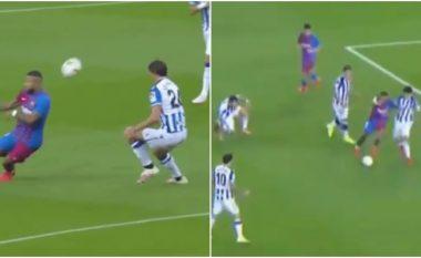 Tre minuta nga debutimi, Depay 'shpërtheu' në Camp Nou - do të jetë kënaqësi të shikohet holandezi këtë sezon në La Liga