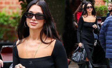 Dua duket e mahnitshme me fustan të zi rrugëve të Londrës