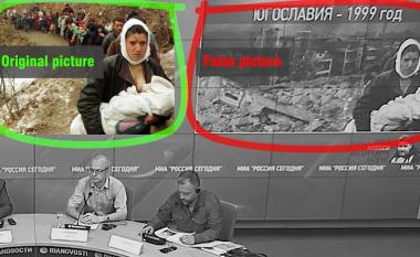 Falsifikimi i fotografisë së shqiptares nga Kosova, Sherife Luta – propaganda ruse e paraqet si viktimë serbe
