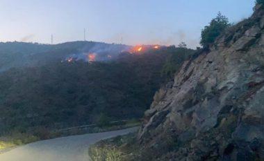 Zjarr në sipërfaqe hamullore në Fushë Kosovë dhe në një zonë malore në Mitrovicë