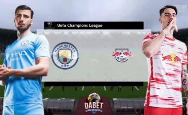 Manchester City e nis fazën e grupeve të LK me takimin ndaj RB Lepzigut - formacionet e mundshme