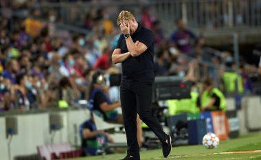 Koeman në rrezik për tu shkarkuar, ky është ultimatumi që i ka vënë Barcelona