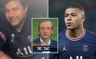 """""""Një përqafim të madh për të gjithë"""" – Pochettino tallet me El Chiringution në lidhje me transferimin e Mbappes"""