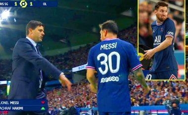 E zëvendësoi 15 minuta para fundit, Pochettino zbulon fjalët që shkëmbeu me Messin dhe arsyen pse e largoi nga loja