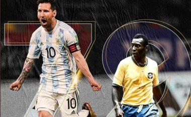 Messi thyen rekordin e golave të Peles, bëhet golashënuesi më i mirë me kombëtare në Amerikën e Jugut
