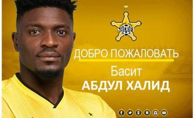 Ish futbollisti i Prishtinës, Basid Khalid nënshkruan për Sheriff Tiraspolin