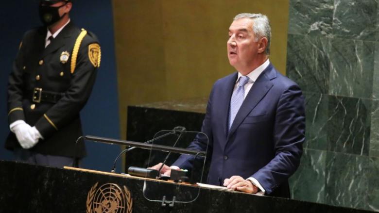 Gjukanoviq në OKB: Ekziston rreziku i destabilizimit të Ballkanit Perëndimor