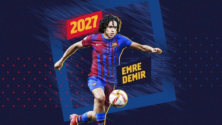 Barcelona konfirmon nënshkrimin me talentin e madh turk Emre Demir