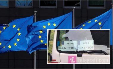 Vendosja e reciprocitetit për targa, reagon BE-ja: Të ulen tensionet në veri të Kosovës