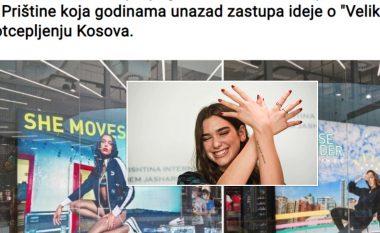 Qytetarët serbë kërkojnë të hiqet imazhi i Dua Lipës nga dyqanet e tyre