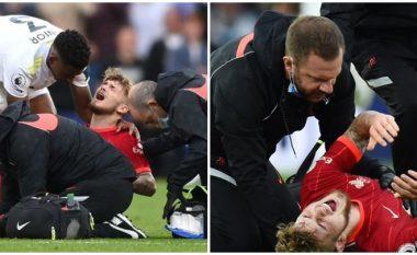 Fizioterapeuti i Liverpoolit, i cili e ktheu kyçin e këmbës së Harvey Elliott në vend, flet për lëndimin horror të lojtarit